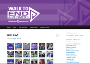 Savannah Walk to End Alzheimers Blog