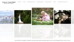New Daly Salter Photography Website 2012