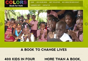 Haiti Kids Book Website